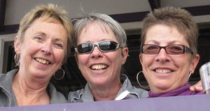with best sisters ever Gail and Lynn