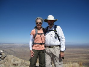 atop Elephant Head (AZ) Feb 2012.  One of the scariest days of my life.