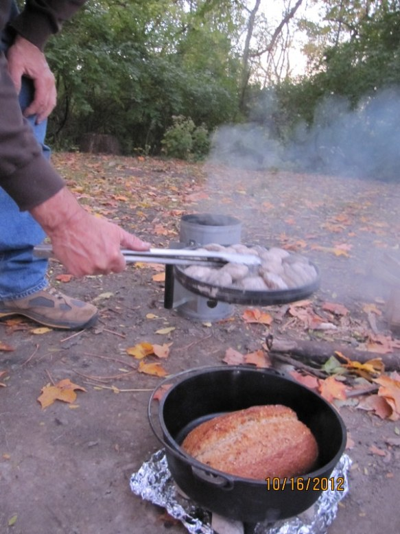 Dutch oven cooking