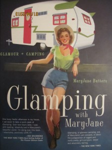 book - Glamping with MaryJane