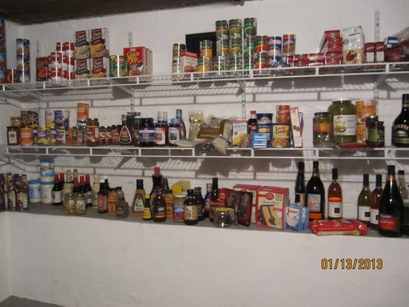 this is one well-stocked larder!