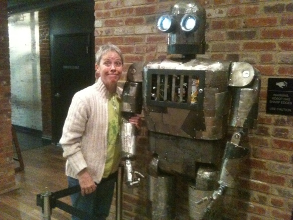 Me, with my best Tin Man imitation
