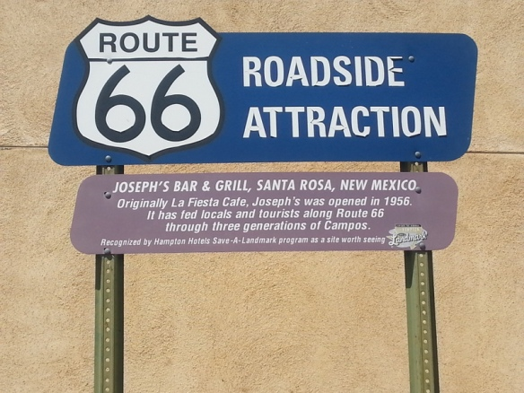 I remember when Route 66 sounded so exciting.  Most of it is now buried below I-40.