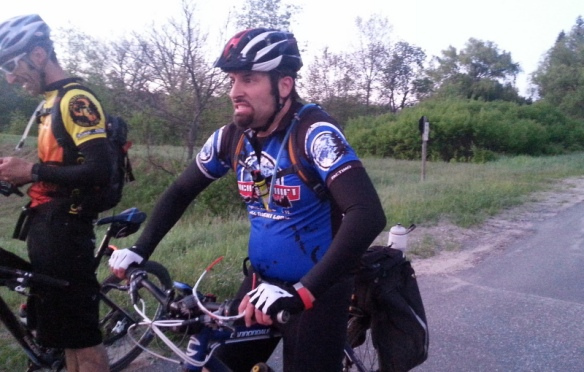 Tony rallies for the last 20 miles