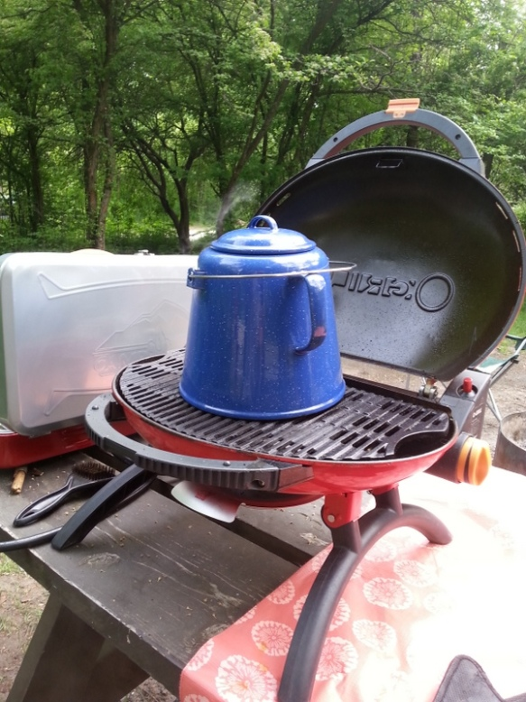 Who knew you could grill coffee?