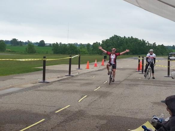 Susanne's big finish