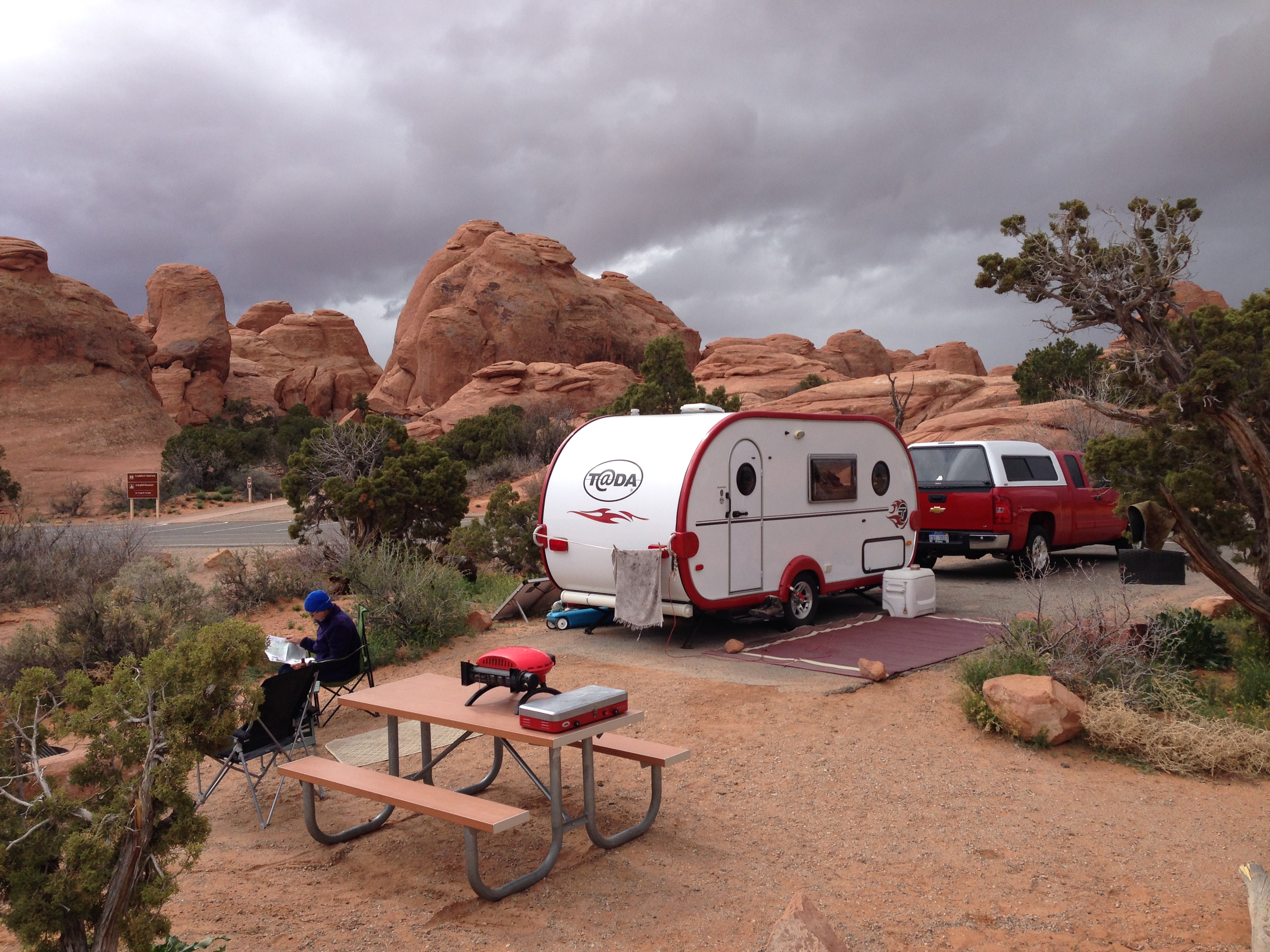 Arches National Park Campshaws