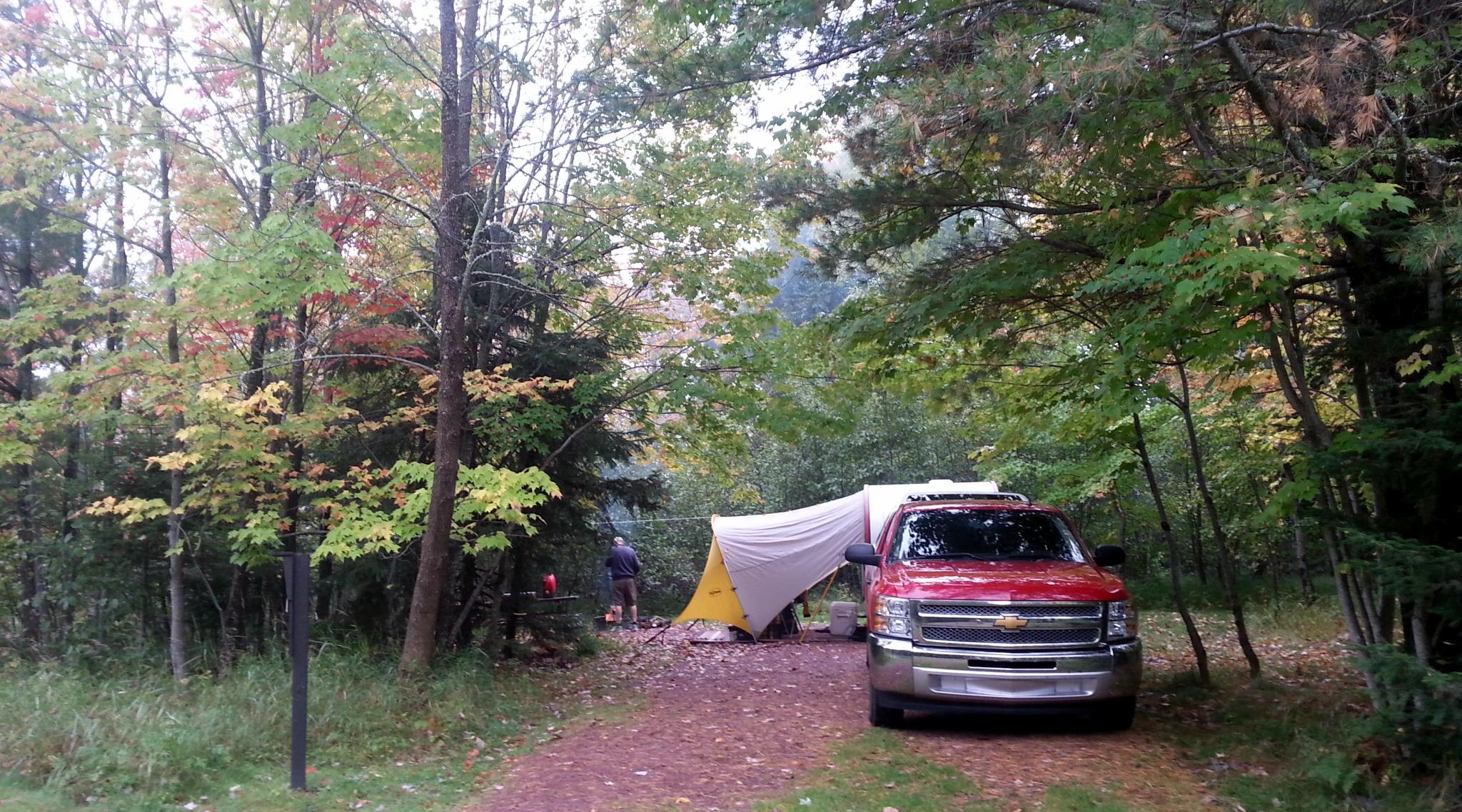 Island Camping Campshaws